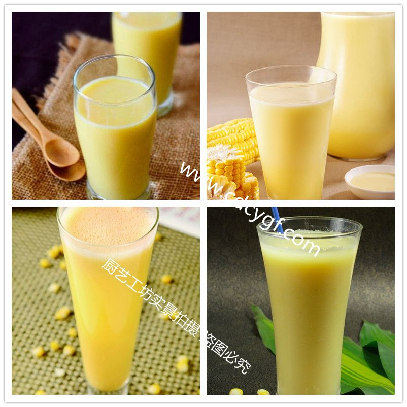 沁香园-黄金玉米汁培训-作品展示二