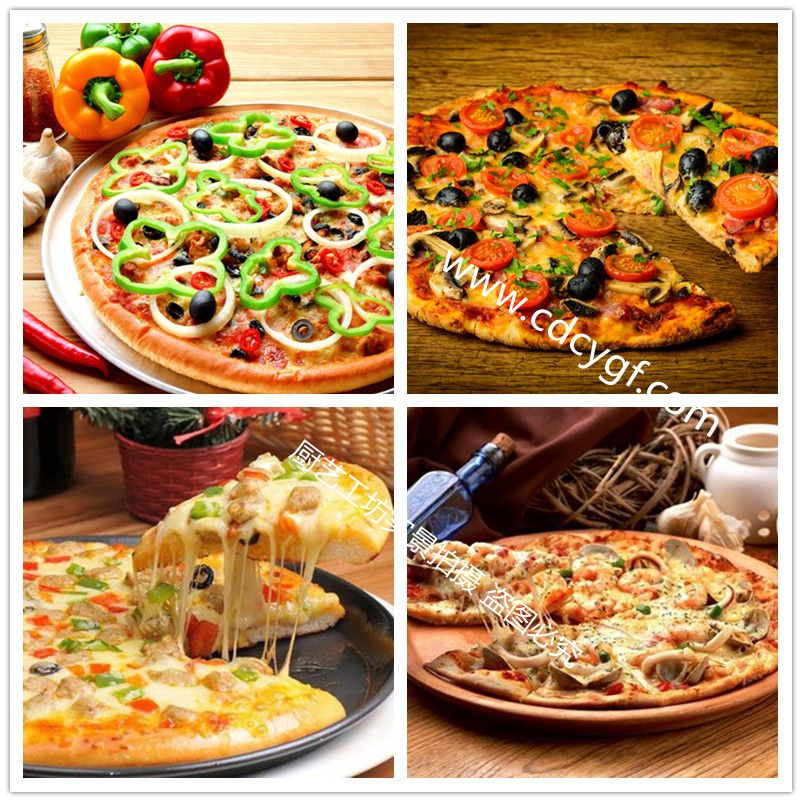沁香园-披萨培训-作品展示一