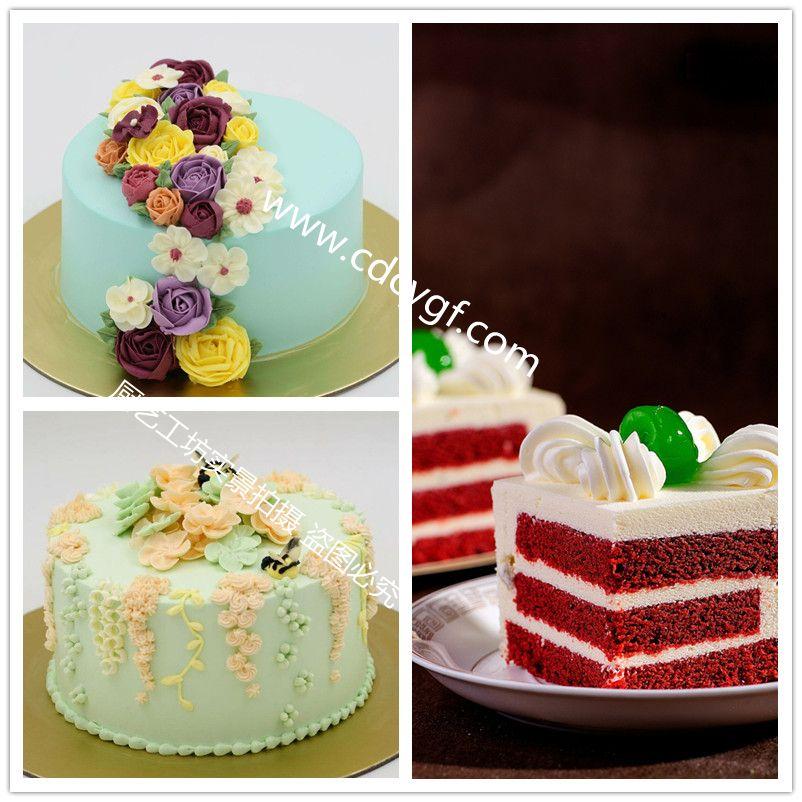 沁香园-裱花蛋糕培训-作品展示